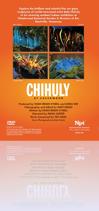 Chihuly Book - Back